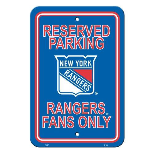 New York Rangers Parking Sign