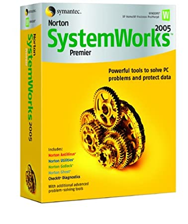 Norton SystemWorks 2005 Premier - Single User [AntiVirus, Utilities, GoBack, Ghost, CheckIT]