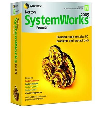 Norton SystemWorks 2005 Premier - Single User [AntiVirus, Utilities, GoBack, Ghost, CheckIT]