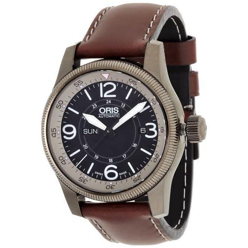 [ORIS]オリス 腕時計  ビッグクラウンタイマー グレーブラック ブラウン 735 7660 4264F メンズ 【正規輸入品】