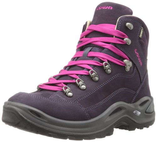 Lowa Women's Renegade Pro Goretex Mid Hiking Boot,Prune