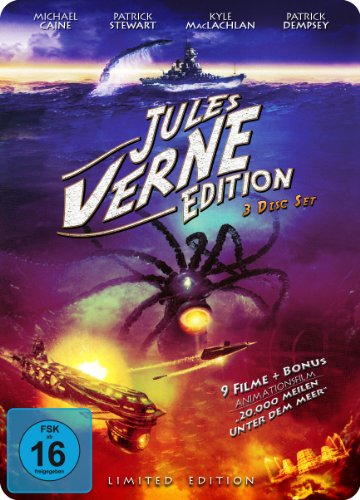 Jules Verne Edition (Metallbox) [3 DVDs] (Limited Edition) [Collector's Edition]