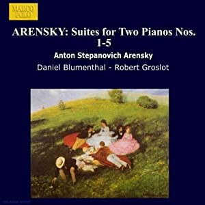 Suites For 2 Pianos Nos 1 - 5 Blumenthal Groslot from Marco Polo