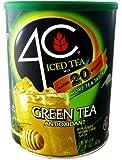 4C Ice Tea Mix - 53oz - Makes 20 Quarts - Choice of 5 Flavors (Green Tea)