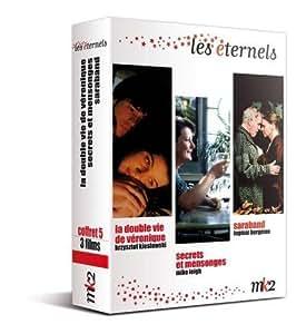 Coffret les éternels, vol. 5 : la double vie de véronique ; saraband ; secrets et mensonges