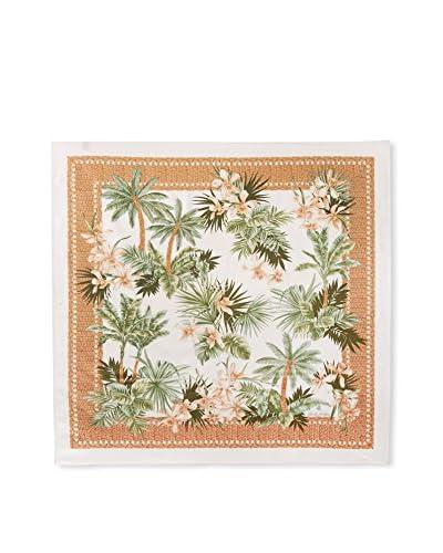Brooks Brothers Women's Palms Scarf, Beige