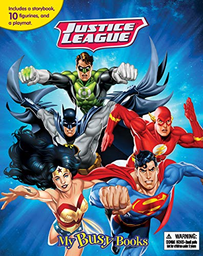 DC Justice League My Busy Book [Phidal Publishing Inc.] (Tapa Blanda)
