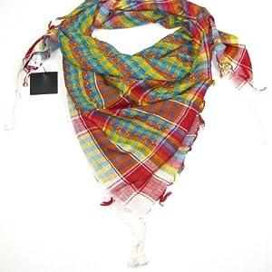 Multicoloured White Desert Scarf  Try these trendy desert scarves  Shemagh  Keffiyeh