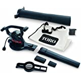 Toro 51602 Super Two-Speed (up to 230) Electric Blower/Vacuum/Leaf Shredder (Discontinued by Manufacturer)