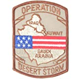 OPERATION DESERT STORM PATCH 米軍払い下げ品 PP-494a