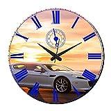 MeSleep Car Wall Clock With Glass Top
