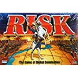 Risk 1998 Board Game With Army shaped Pieces