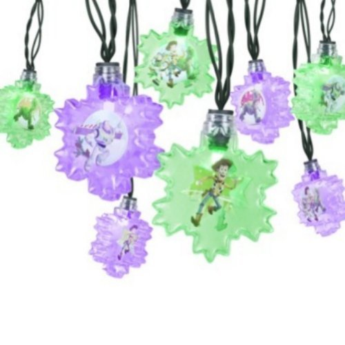 Rope Lights Woodies: Disney Toy Story Blinking String Lights Christmas Light