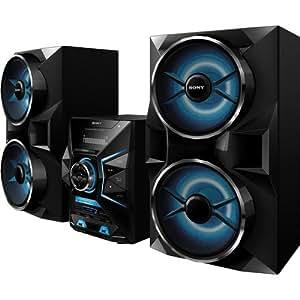 sony 1800 watt mini hifi music system with. Black Bedroom Furniture Sets. Home Design Ideas