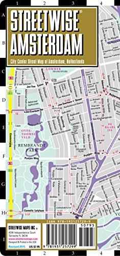 Streetwise Amsterdam Map - Laminated City Center Street Map of Amsterdam, Netherlands PDF