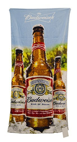 anheuser-busch-blue-sky-bottles-beach-towel-30-by-60-by-unknown