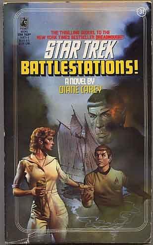 BATTLESTATIONS (CLASSIC STAR TREK 31), DIANE CAREY