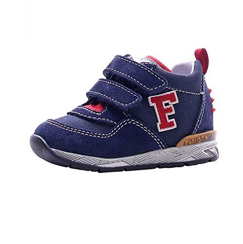 Falcotto scarpe bimbo unisex 1101 - Sneaker Falcotto by Naturino Danny VL Velour/Cor, Navy, Blu (25)