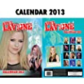 AVRIL LAVIGNE 2013 KALENDER CALENDAR BY DREAM + AVRIL LAVIGNE SCHLSSELANHNGER