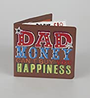 Dad Wallet Fathers Day Card