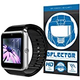 DFlectorshield Premium Scratch Resistant Screen Protector for the Otium One Bluetooth Smart Watch for iOS