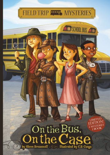 On the Bus, on the Case (Field Trip Mysteries)