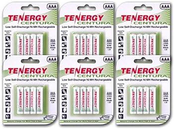 Tenergy Centura AAA Rechargeable Batteries