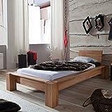LENA Holzbett Massivholzbett Futonbett Bett Massiv Kernbuche 90x200 NEU