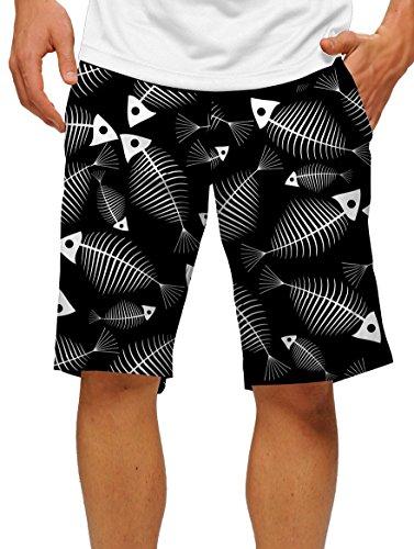 loudmouth-mens-fish-bones-golf-shorts-38w-black