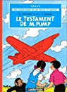 Jo Zette et Jocko, tome 1 : Le Testament de Monsieur Pump par Herg�
