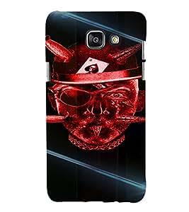 PrintVisa Cool Boy Gambler 3D Hard Polycarbonate Designer Back Case Cover for Samsung Galaxy A5 A510 2016 Edition