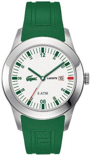 Lacoste Advantage Green Silicone Mens Watch 2010626