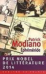 Ephemeride par Modiano
