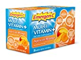 Emergen-C Multi-Vitamin Plus Apricot-Mango Fizzy Drink Mix 30 Sachets
