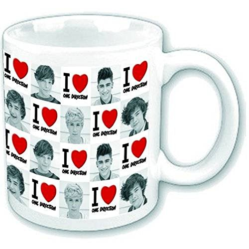 One Direction1D I Love One Direction New Official Boxed Mug