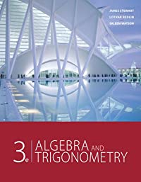 9781111568108: Study Guide for Stewart/Redlin/Watson's Algebra and Trigonometry, 3rd