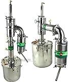 45L Alcohol Distiller Spirits Brewing Ethanol Moonshine Still Stainless Boiler