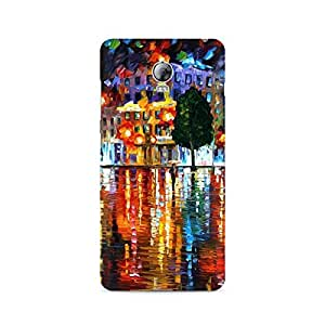 Mobicture Coloured Pattern Premium Printed Case For Lenovo Vibe P1