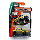 CHEVY K1500 4x4 (Yellow) * MBX EXPLORERS * 2014 Matchbox on a Mission Basic Die-Cast Vehicle (#88 of 120)