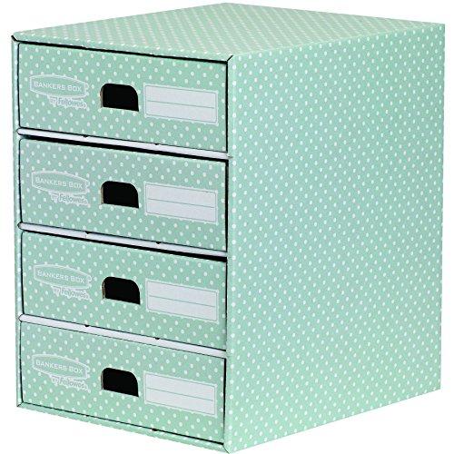 Bankers-Box-4481701-Style-Series-Schubladenturm-grnwei
