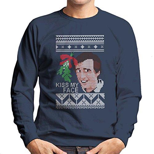 christmas-alan-partridge-kiss-my-face-mistletoe-knit-mens-sweatshirt