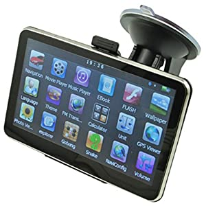 "Cooler 5"" Car GPS Navigation Sat Nav Built-in 4GB 64MB RAM WinCE 6.0"