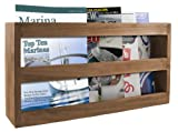 SeaTeak 62508 Double-Wide Magazine Rack