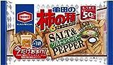 亀田製菓 亀田の柿の種ソルト&ペッパーおまけ入り 223g×6袋