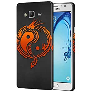 Theskinmantra Shaolin sign back cover for Samsung Galaxy On7
