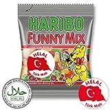 Haribo Funny Mix, Helal / Halal, 100g