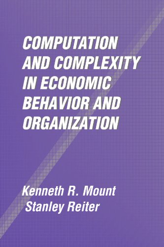 Computation and Complexity in Economic Behavior and Organization