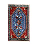 Eden Alfombra Abadeh Rojo/Azul 75 x 124 cm