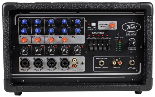 Peavey PV5300 300 Watt 5-Channel Powered Live