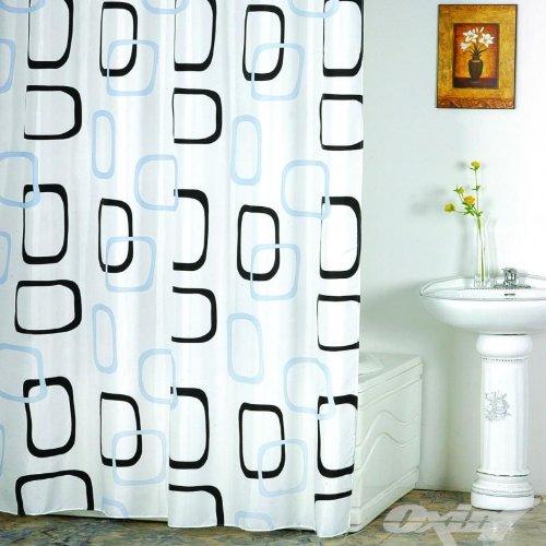 duschvorhang wannenvorhang dream ma e 180x180cm incl 12 ringe. Black Bedroom Furniture Sets. Home Design Ideas